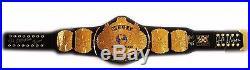 Wwe Hulk Hogan Signed Winged Eagle World Heavyweight Belt With Exact Proof & Coa