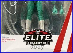 Wwe Rey Mysterio Jr Hand Signed Autographed Elite #69 Toy With Coa Very Rare