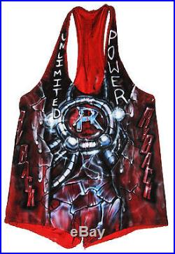 Wwe Ryback Ring Worn Hand Signed Singlet With Proof And Coa 5