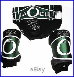 Wwe Sheamus Ring Worn Signed Wrestling Trunks And Pads With Photo Proof And Coa