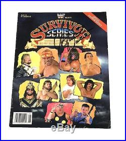 Wwe Ultimate Warrior Hand Signed Autographed Survivor Series 89 Program With Coa