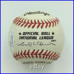 Yogi Berra Signed Autographed National League Baseball With JSA COA